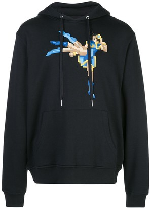 Mostly Heard Rarely Seen 8 Bit Iron Lady pixelated hoodie