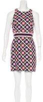 Milly Geometric Print Mini Dress w/ Tags