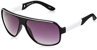 Southpole Men's 573SP OXWH Shield Sunglasses