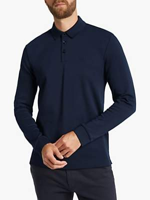 HUGO BOSS BOSS Pado Long Sleeve Polo Shirt