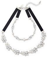 New York & Co. Sparkling 2-Row Choker Necklace
