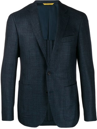 Canali Woven Suit Jacket