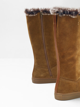 White Stuff Ivy Faux Fur Mid High Boots