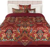 Etro Registan Quilted Bedspread - 270x270cm - Red