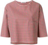 Barena checked blouse