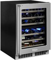 "Williams-Sonoma Williams Sonoma Marvel Professional Dual Zone Wine Cellar, 24"""
