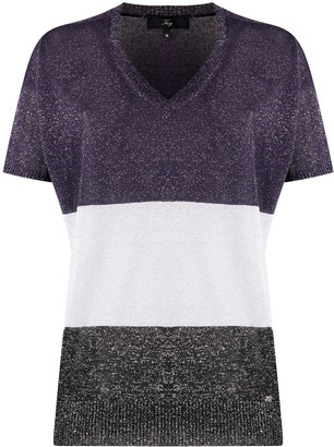 Fay V-Neck Knitted Top