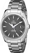 Omega Men's 231.10.39.21.06.001 Seamaster Black Dial Watch