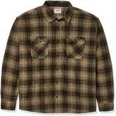 Wrangler Men's Authentics Long Sleeve Plaid Fleece Shirt