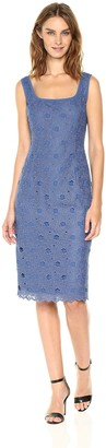 Anne Klein Women's Scoop Neck Sheath-Lace