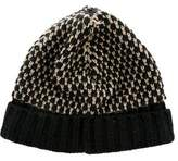 Little Marc Jacobs Girls' Metallic-Accented Knit Beanie