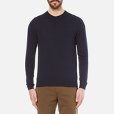 Ps By Paul Smith Crew Neck Knitted Jumper Navy
