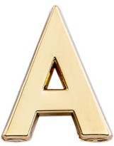 Make Heads Turn Letter A Pin
