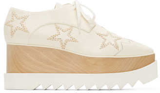 Stella McCartney Cream Elyse Oxfords