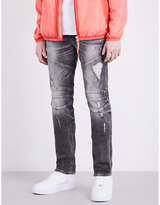 True Religion Rocco Biker Relaxed-fit Skinny Jeans
