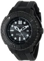 Nautica Men's N28509G NMX 1000 Date Solar Powered Black Watch