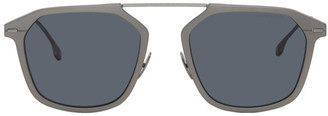 BOSS Grey Ruthenium Sunglasses