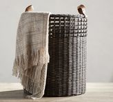 Pottery Barn Aster Woven Tote Basket