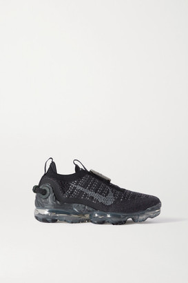 Nike Vapormax 2020 Rubber-trimmed Flyknit Sneakers - Black