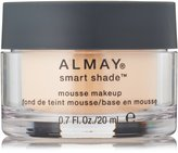 Almay Smart Shade Mousse Makeup, 0.17 Fluid Ounce