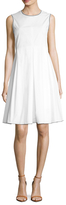 Max Mara Vista Cotton A-Line Dress