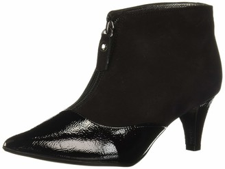 Marc Joseph New York Women's Leather Made in Brazil 2.25 Inch Heel Ankle Bootie Pump