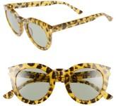 Saint Laurent Women's 47Mm Sunglasses - Glitter/ Black