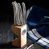 Laguiole Jean Dubost 6-Piece Steak Knife Block Set