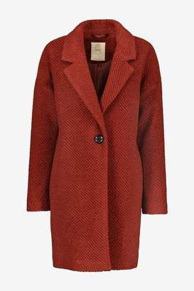 Esprit Womens Brown Blazer Coat - Brown