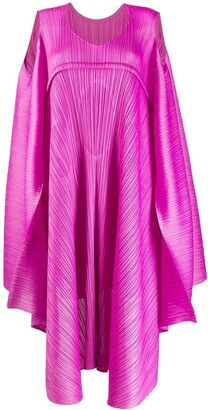 Pleats Please Issey Miyake Draped Style Dress