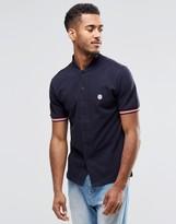 Le Breve Button Through Baseball T-Shirt