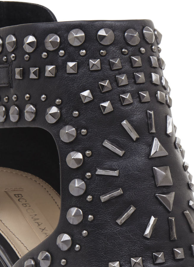 BCBGMAXAZRIA Prose High-Heel Studded Sandal