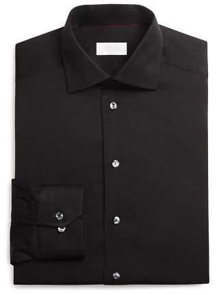 Eton of Sweden Signature Twill Solid Slim Fit Dress Shirt