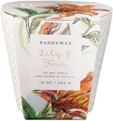 Paddywax Flower Market Collection Ceramic Candle - Lily & Fern - 10 oz