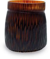 A by Amara - Mathura Vase - Butter/Brown - 27x27cm