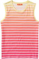 Joe Fresh Women's Stripe Ombré Tank, Pink (Size M)