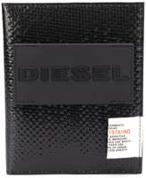 Diesel passport case with shiny finish