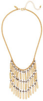 New York & Co. Goldtone Beaded Statement Necklace