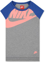 Nike Logo Raglan T-Shirt, Toddler & Little Girls (2T-6X)