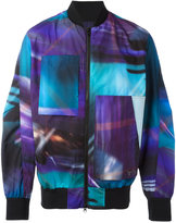 Y-3 AOP bomber jacket - unisex - Polyester - S