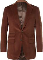 Thom Sweeney - Slim-Fit Cotton and Cashmere-Blend Corduroy Suit Jacket