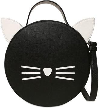 Karl Lagerfeld Paris Choupette Faux Leather Shoulder Bag