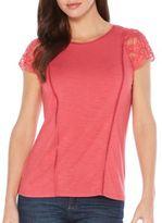 Rafaella Cotton Jersey Blouse