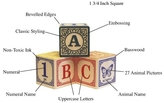 Green Baby Classic ABC Blocks