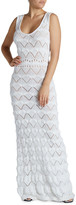 Couture Macrame Maxi Bodycon Dress