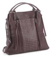 Kooba Everette Studded Leather Satchel