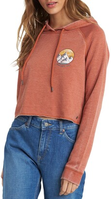 Roxy We Arrived Crop Hoodie