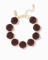 Charming charlie Ruby Chic Link Bracelet