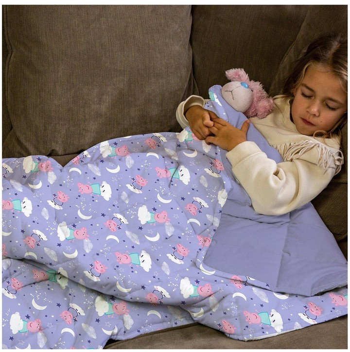 Thumbnail for your product : Peppa Pig Rest Easy Sleep Better Weighted Blanket
