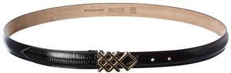 Burberry Patent Belt